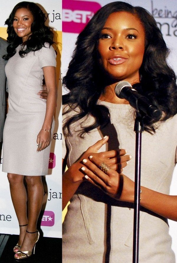 Gabrielle Union at the advanced screening of Being Mary Jane at the Hyatt Regency in Chicago on December 9, 2013