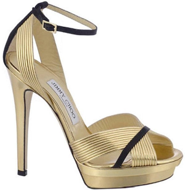 "Jimmy Choo ""Kasha"" Platform Sandals"