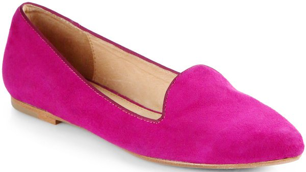 "Joie ""Day Dreaming"" Suede Smoking Slippers"