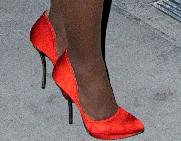 Lupita Nyong'o was also spotted wearing another pair of red heels at the 23rd Annual Gotham Independent Film Awards