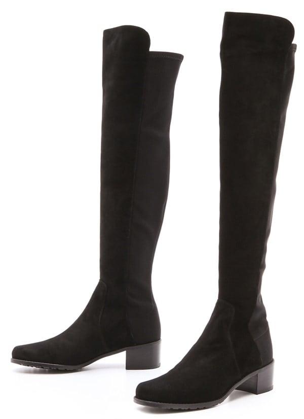 Stuart Weitzman 'Reserve' Stretch Suede Boots