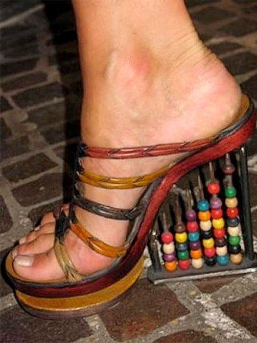 Abacus shoes
