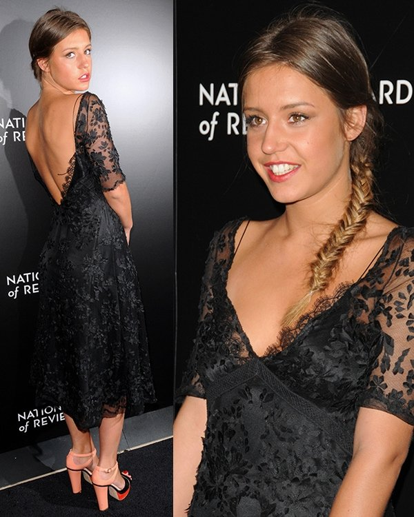 Adele Exarchopoulos 2014 National Board Of Review Awards Gala