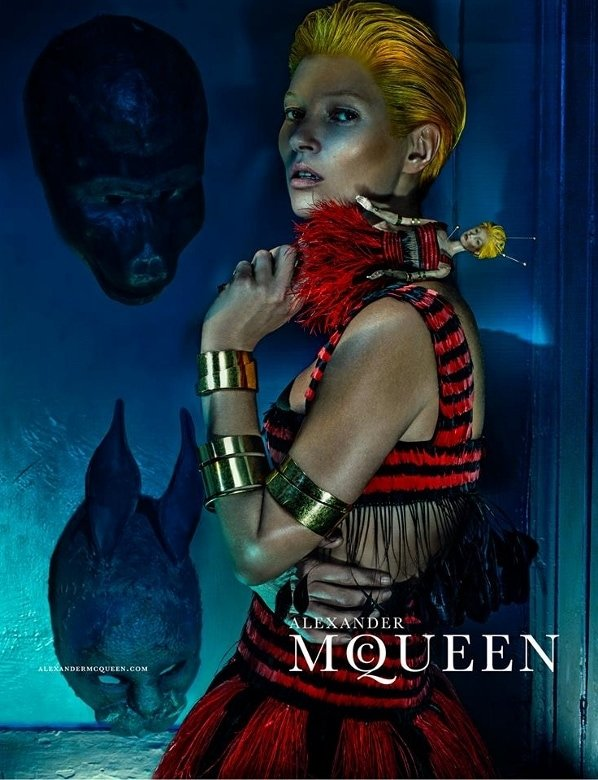 The dark images were shot by Steven Klein, who also directed the accompanying creepy film