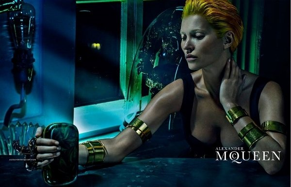 Kate Moss Is Unrecognizable in Alexander McQueen's SS14 Campaign