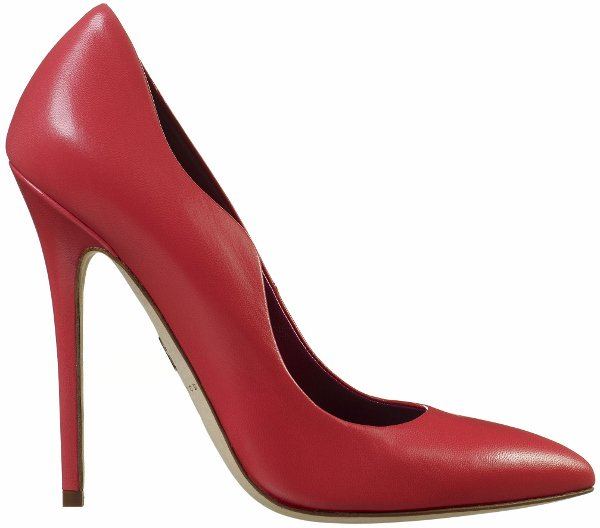 "Brian Atwood Orchidea Leather ""Besame"" Pumps"