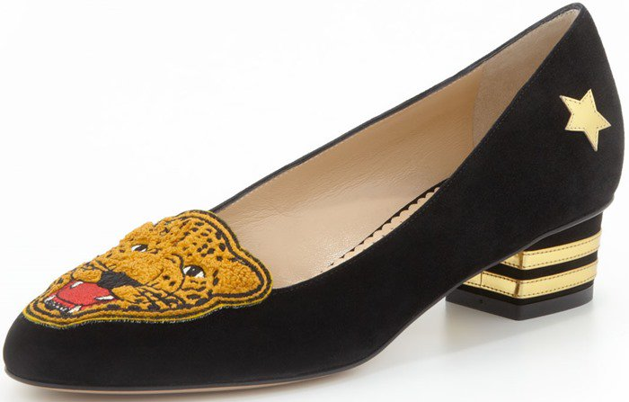 Charlotte Olympia 'Mascot' Wild Cat Loafers