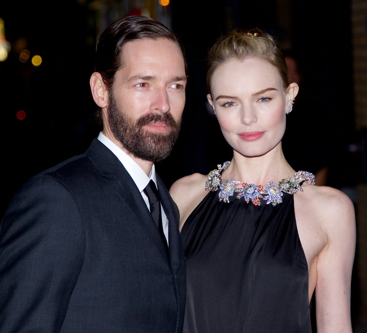 """Director Michael Polish and Kate Bosworth attend the """"Big Sur"""" premiere"""