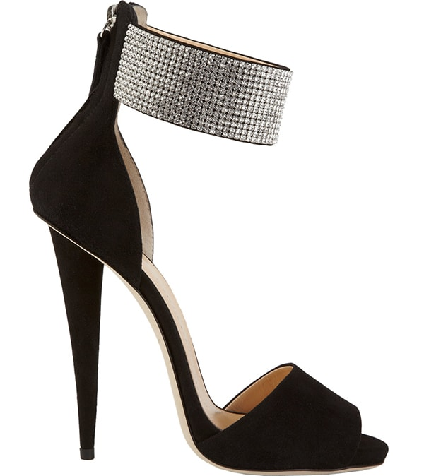 Giuseppe Zanotti Crystal Ankle Cuff Sandals1