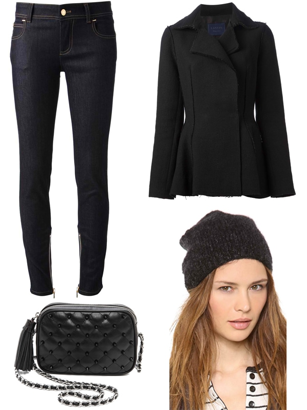 Jessica Alba inspired outfit