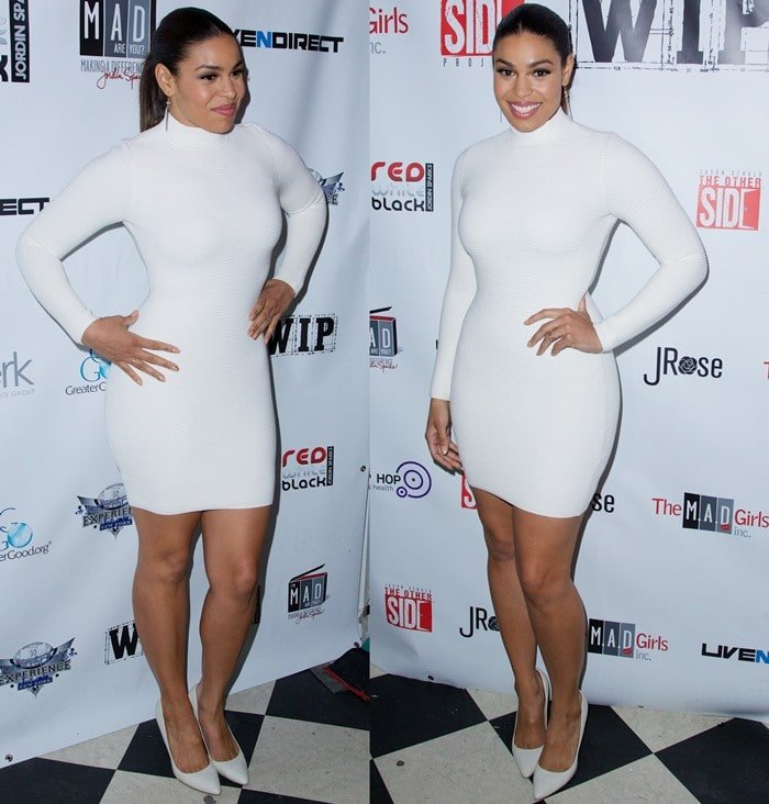 Jordin Sparks and Jason Derulo welcome to New York Red, White and Black