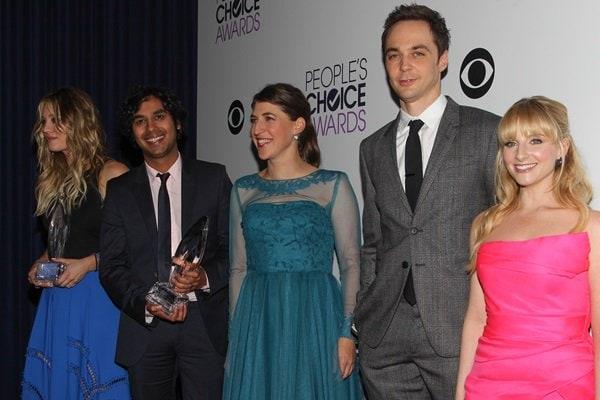 Kaley Cuoco, Kunal Nayyar, Mayim Bialik, Jim Parsons, and Melissa Rauch