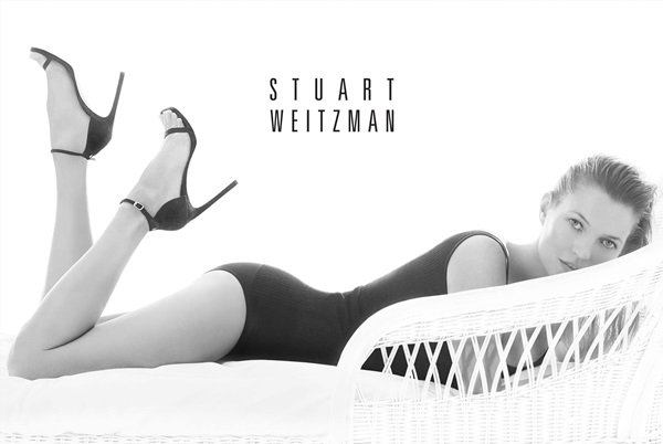STUART WEITZMAN KATE MOSS 2014 ADVERTISING CAMPAIGN