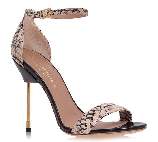 "Kurt Geiger ""Belgravia"" Sandals in Salmon"
