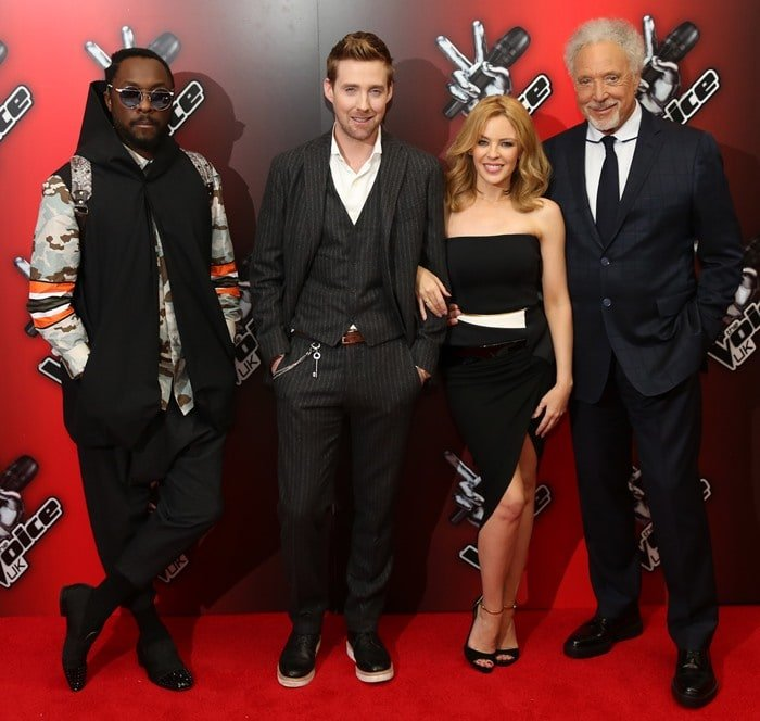 The Voice U.K. Red Carpet Launch