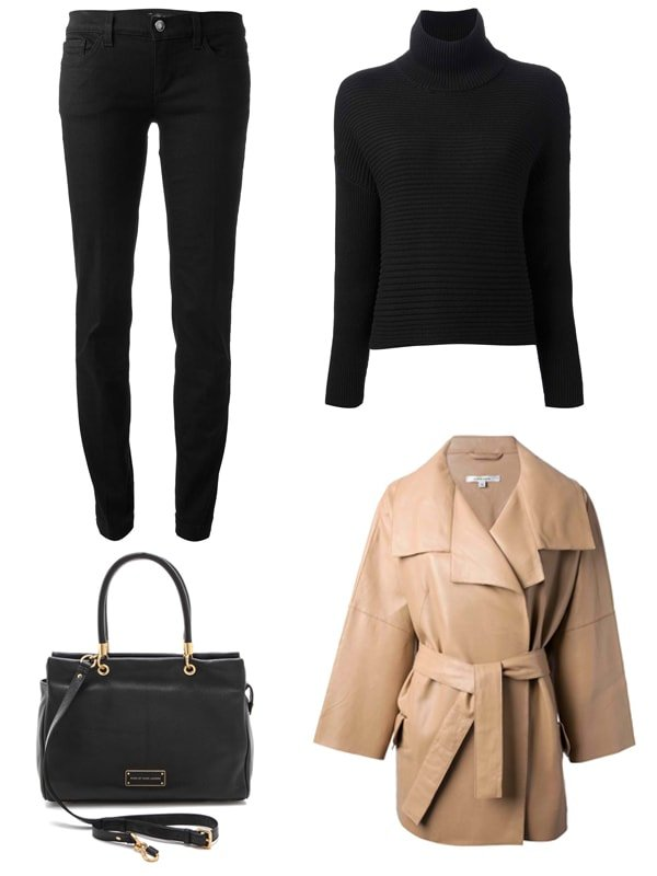 Myleene Klass inspired outfit