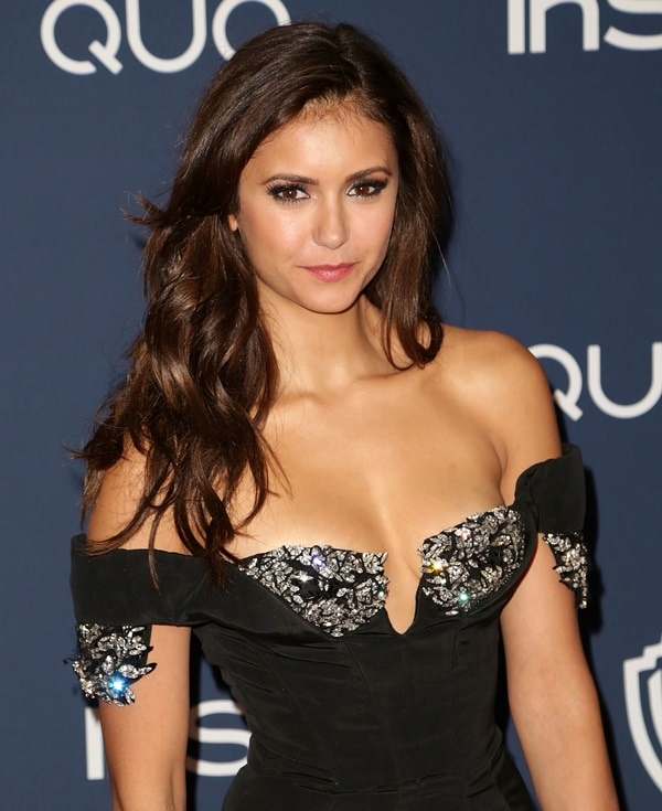 Nina Dobrev at the 15th Annual Warner Bros. and InStyle Golden Globe Awards after-party