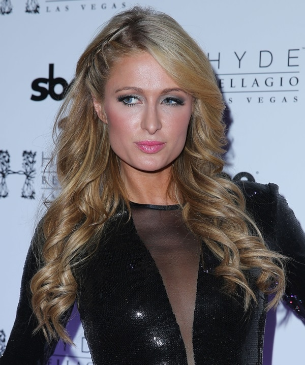 Paris Hilton Rings In 2014 With Special DJ Set at Hyde