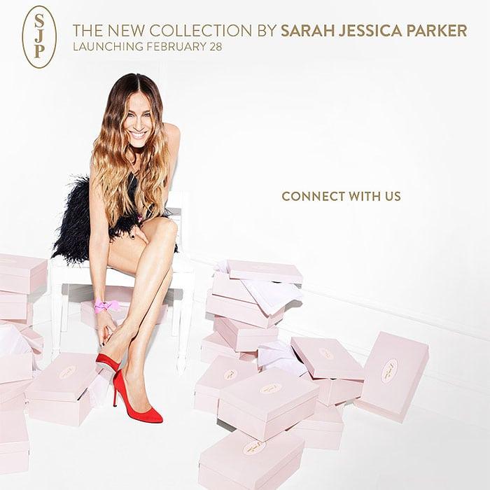 Sarah Jessica Parker's SJP shoe line