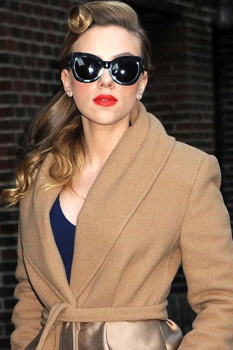 "Scarlett Johansson's""I'm a big movie star"" expression"