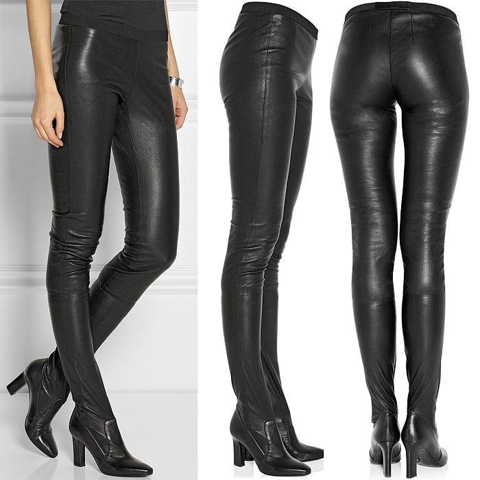 """Tamara Mellon """"Sweet Revenge"""" Leather Legging Boots"""