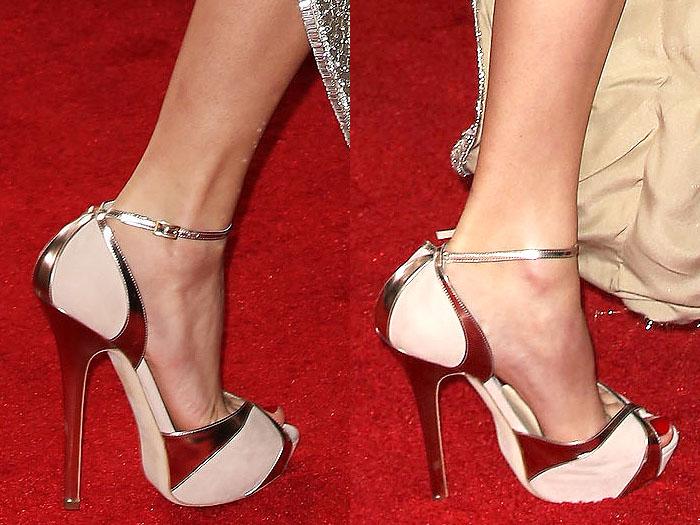 Taylor Swift is an avid Jimmy Choo shoe wearer