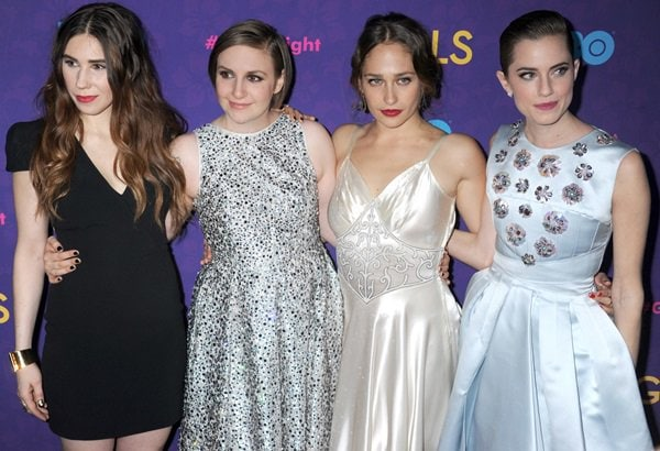 'Girls' Season 3 premiere at Jazz at Lincoln Center