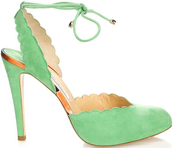 "Bionda Castana ""Consuelo"" Pumps in Apple Green"