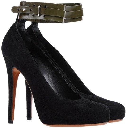 Celine Ankle-Strap Pumps