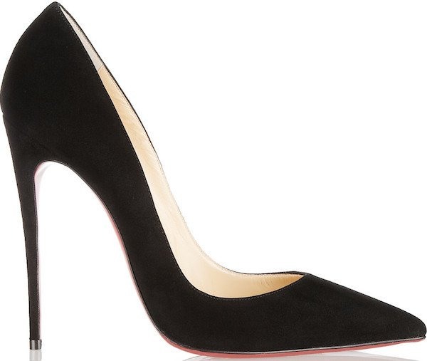 "Christian Louboutin ""So Kate"" Pumps in Black Suede"