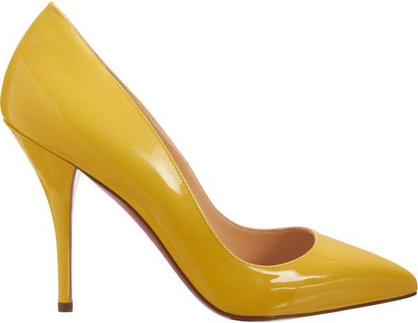 "Christian Louboutin ""Batignolles"" Pumps in Yellow"