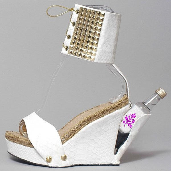 Shoes With Secret Compartment