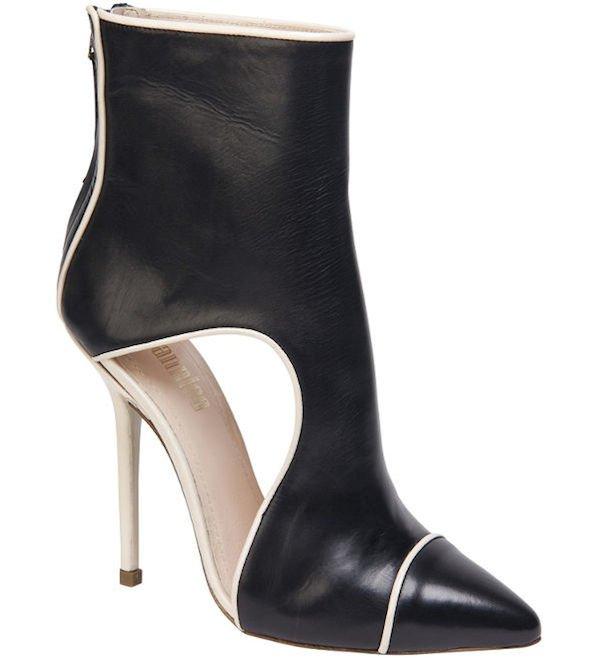 "Giannico ""Dita"" in Black Leather"