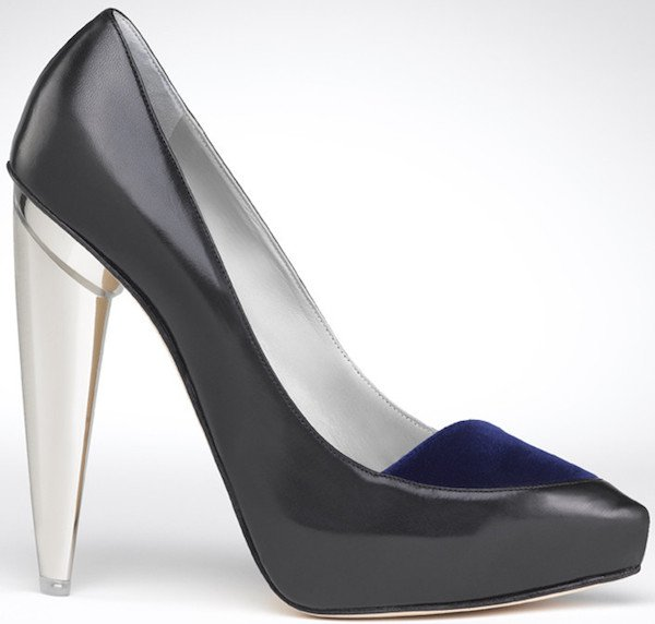 "Gio Diev ""Nikko"" Kidskin Pumps in Black"