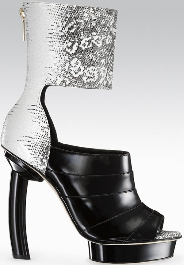 """Gio Diev """"Osaka"""" Ankle-Cuff Booties"""