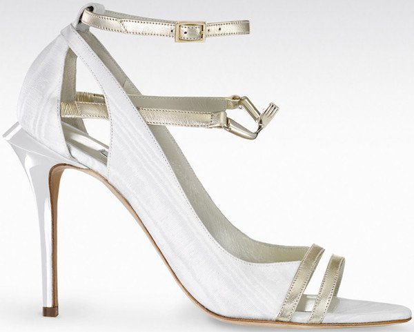 "Gio Diev ""Petra"" Strappy Sandals"