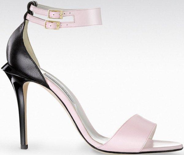 "Gio Diev ""Sana"" Ankle-Cuff Sandals"