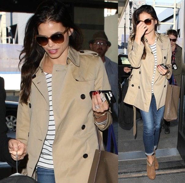 Jenna Dewan At LAX