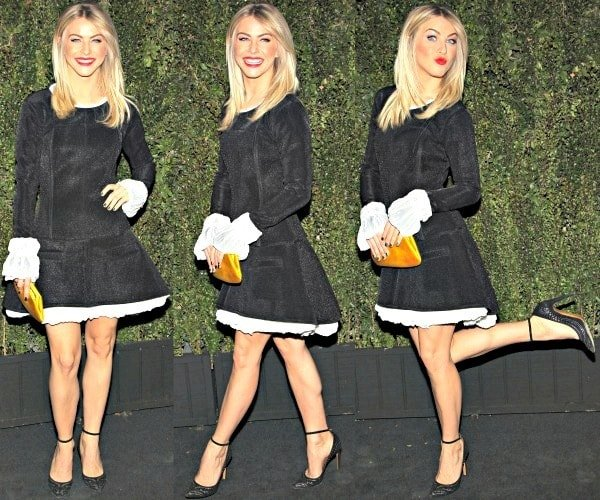 Julianne Hough at the Chanel Dinner celebrating the launch of Drew Barrymore's new book, Find It in Everything at the Chanel Boutique in Beverly Hills, California, on January 14, 2014