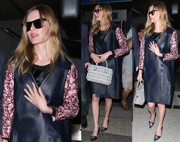Kate Bosworth arriving at LAX in Los Angeles