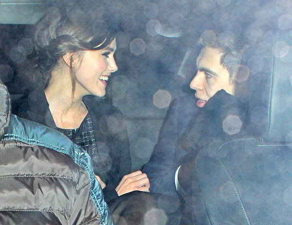 Keira Knightley with husband James Righton at the 'Jack Ryan: Shadow Recruit' after-party