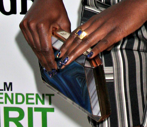 Lupita Nyong'o sparkled in beautiful jewelry from W. Britt