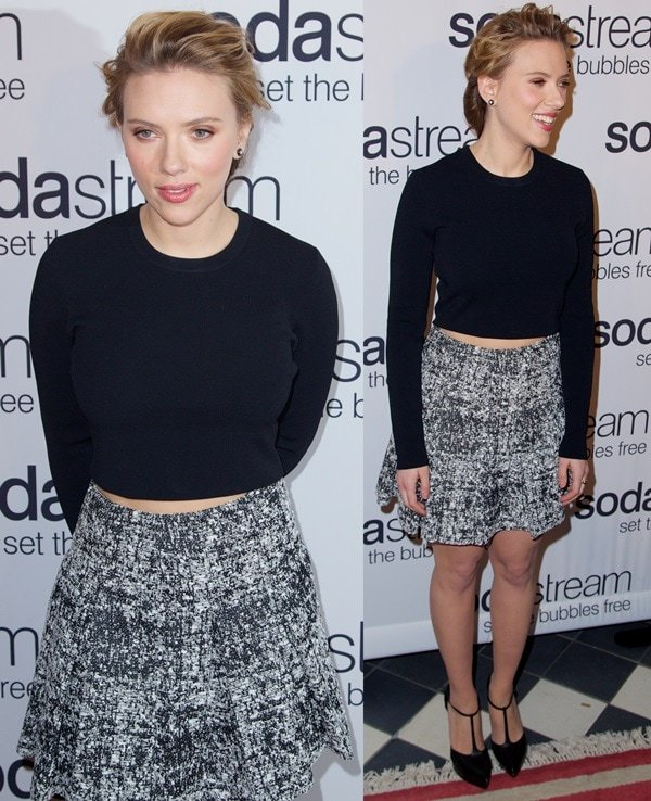 Scarlett Johansson revealed to be the first-ever global brand ambassador for SodaStream
