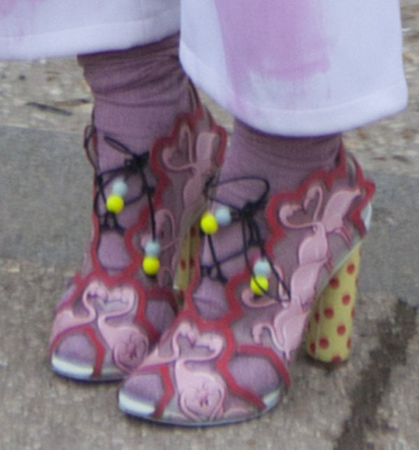 Susie Bubble in Cutout Sandals