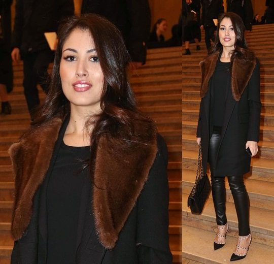 Yasmine Tordjman, who is a French diplomat's wife and a socialite in her own right, was also spotted attending several of the shows