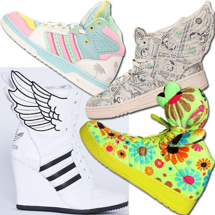 Adidas by Jeremy Scott sneakers