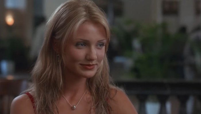 Cameron Diaz became a sexy symbol after starring in The Mask