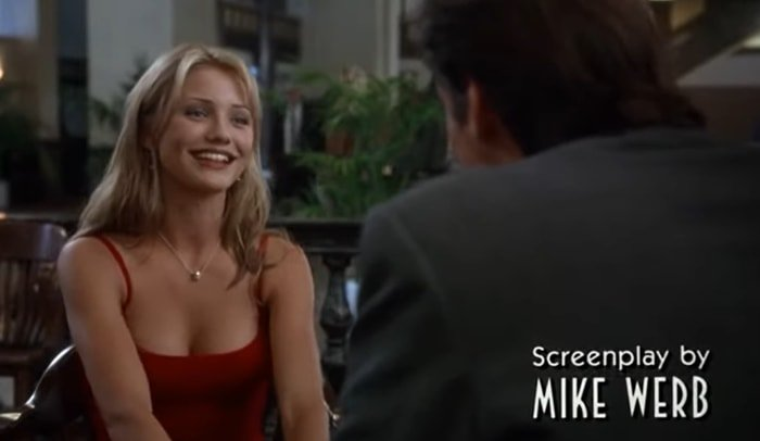 Cameron Diaz made her film debut at age 21 opposite Jim Carrey in the comedy The Mask