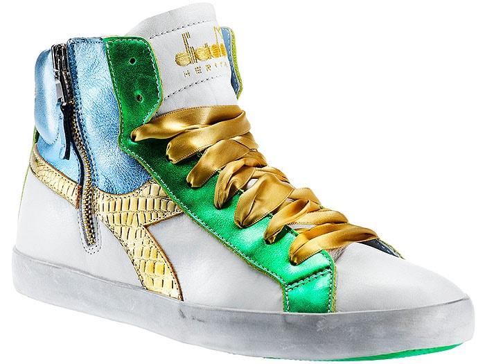 Diadora Kim W Lurex Sneakers