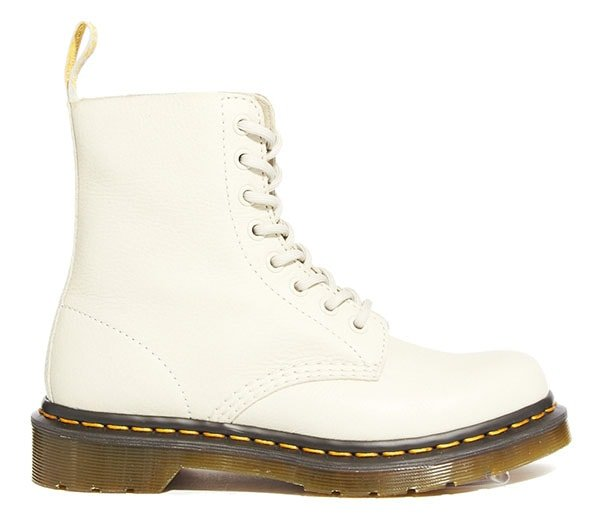 Dr Martens Core Pascal Ivory 8-Eye Boots1